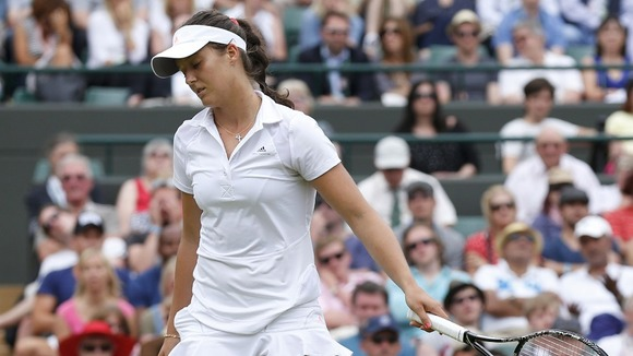 Laura Robson Crashes Out of Wimbledon 2013.