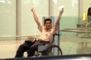 Man In Wheelchair Ignites Bomb At Beijing International Airport