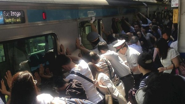 Passengers Push Train Off Trapped Woman In Japan