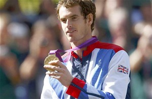 Team GB Olympic Champion Andy Murray.