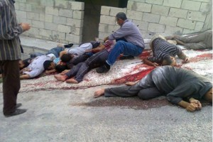 victims of pro-regime forces attack on Bayda