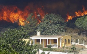 Residents Evacuated In Spain Forest Fire