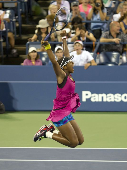 Victoria Duval After Winning Sam Stosur on Tuesday.