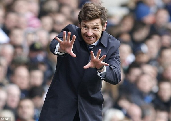 AVB Claims Rumours of an Impending Real Move For Bale are Untrue.