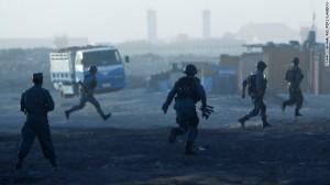 22 Afghan Police, 76 Taliban Killed