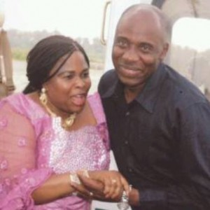 Gov. AMAECHI & THE FIRST LADY SEEN IN A FILE PHOTO FROM 2010