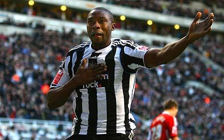 Shola Ameobi is the Longest Serving Professional in the Present Crop of Magpies' Squad.