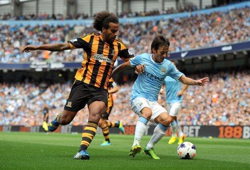 David Silva Impressed With the Ball.