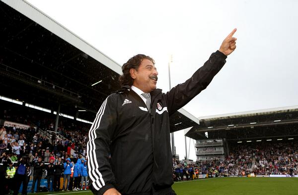Fulham Owner Shahid Khan Welcomed to a Rapturous Reception.