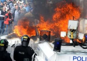 Dozens Of Cops Injured In Belfast Clashes