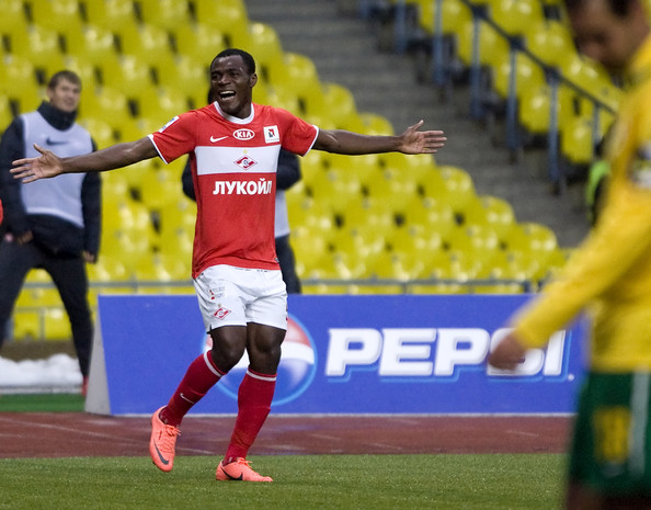 Emenike Scored the Opening Goal in Spartak 2-2 Draw Against Kuban.