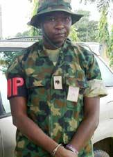 Fake Army Major