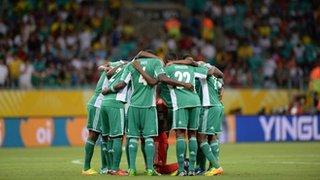 Super Eagles of Nigeria.