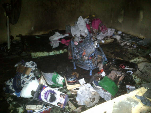 LATE WINIFRED & ATINUKE'S ROOM AFTER THE INCIDENT