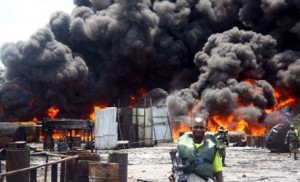 JTF Destroys 48 Illegal Oil Refinery Sites In N'Delta