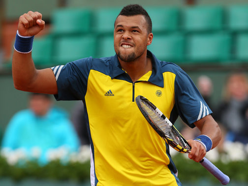 Tsonga Reached the Last Four of Roland Garros But Lost Out to Spaniard David Ferrer.