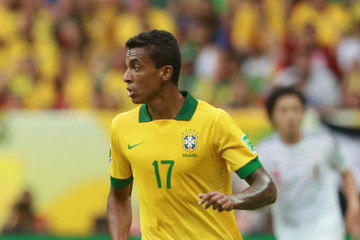 Gustavo, a Key Member of Brazil Confederations Cup Squad.