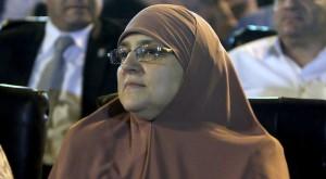 Naglaa Mahmoud, wife ousted Egyptian president