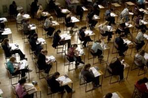 Pupils sitting exams-1373613