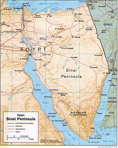 Sinai penisula