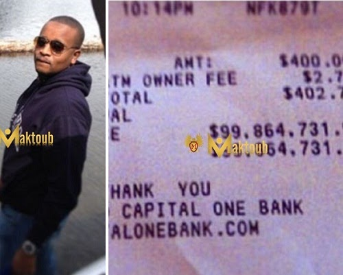 Young billionaire, Ahmed Indimi, shows off $99,864,731 account balance on instagram
