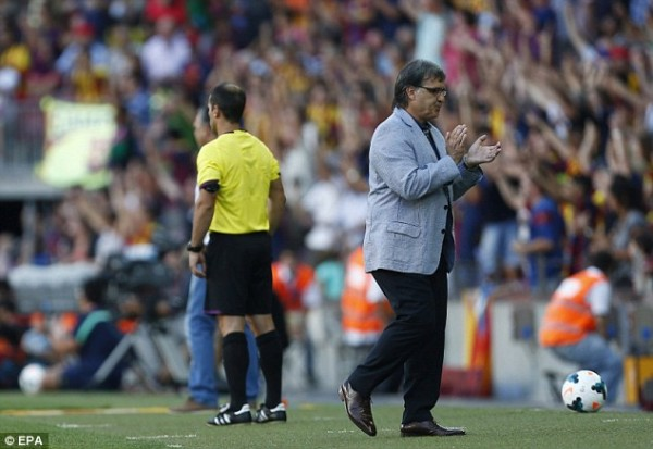 Gerardo Martino Watched His Side Humiliate Levante at the Camp Nou.