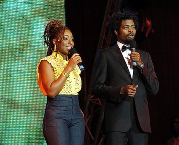 dakore-akande-and-basketmouth-hosting-the-headies-2008