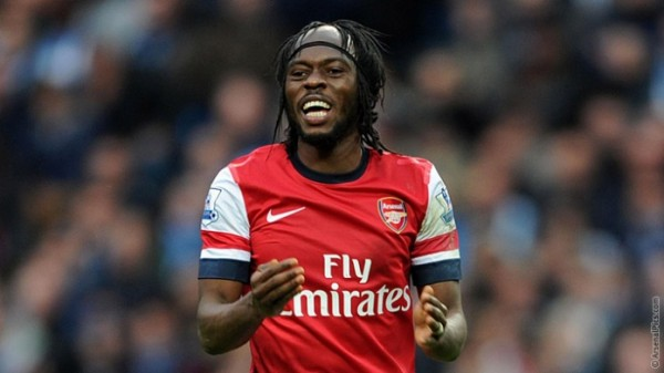 Gervinho Joined the Gunners in 2011.