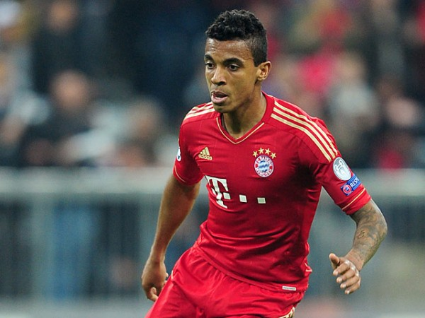 Luis Gustavo Has Had Limited Playing Opportunity at the Allianz Arena.