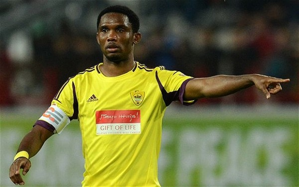 Chelsea to Complete Samuel Eto'o's Move in the Next 24 Hours.