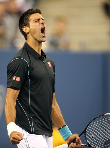 Novak Djokovic Reaches His 14th Successive Grand Slam Semis.