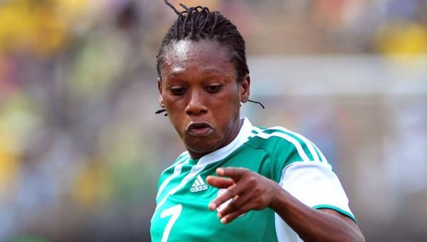 Stella Mbachu of the Falcons.
