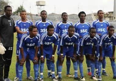 3SC Football Club of Ibadan.