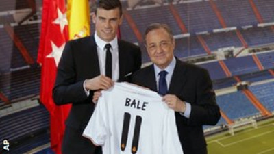 Florentino Perez Claims United Made Unsuccessful Moves to Snatch Bale.