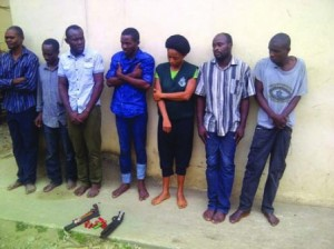 7-man robbery gang