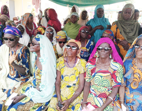 EYE CATARACT PATIENTS WAITING FOR FREE SURGERY AT DUTSE GENERAL HOSPITAL IN JIGAWA ON WEDNESDAY