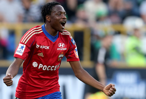 Ahmed Musa Says CSKA Will Win at the Allianz Arena.