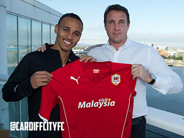 @CardiffCityFC: Odemwingie Signs a Two-Year Deal With Cardiff City.