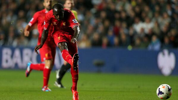 Victor Moses Scored His Debut Goal in Liverpool's 2-2 Draw at Swansea.