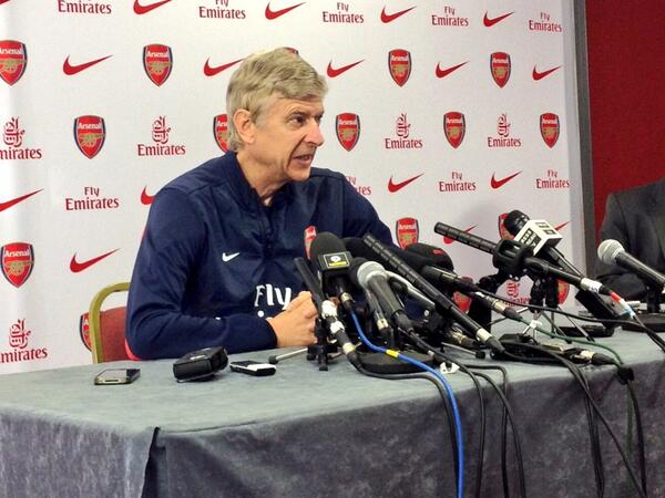 Arsene Wenger Says There's Likely Not Going to Be Managerial Vacancy at the Emirates Until He Quits.
