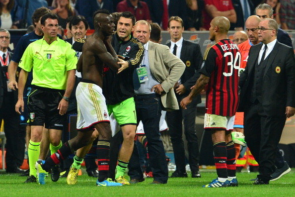 Balotelli Missed a Penalty for the First Time in His Career, Had an Appeal for Another Ignored and Scored in Added Time in the Napoli Defeat.
