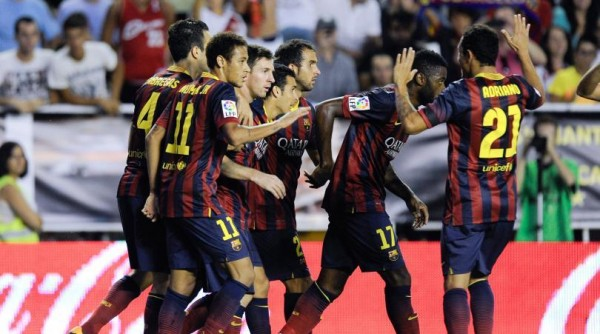 Barca Sits at the Top of the La Liga Table on 15 Points.
