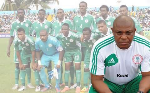 Stephen Keshi Warns Against Home Slip.