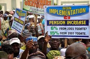 Pension-protest