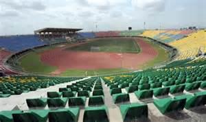 The Teslim Balogun Stadium, Venue of the Sunday Final.