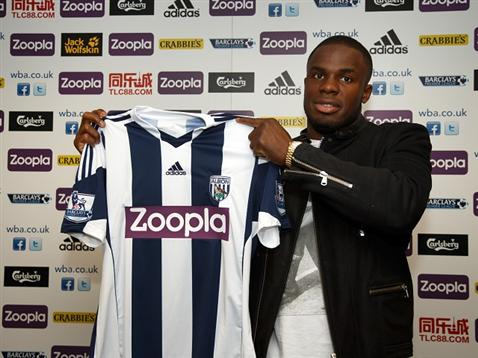 Victor Anichebe Wants to Take on New Challenges at West Brom.