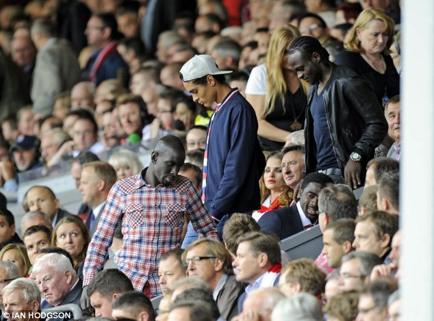 Moses, Ilori, Sakho Arrives at Anfield to Watch Daniel Sturridge Fall Manchester United With a Killer-Goal.