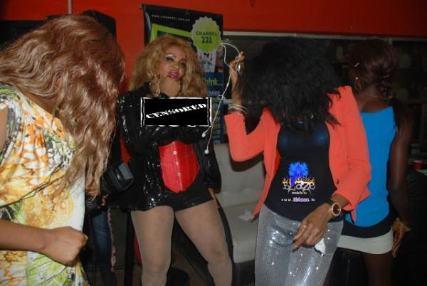 PHOTO: Cossy Orjiakor's Dress Causes Commotion At Event