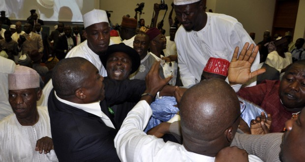 PDP HOUSE OF REPS MEMBERS IN FREE-FOR-ALL FIGHT ON TUESDAY