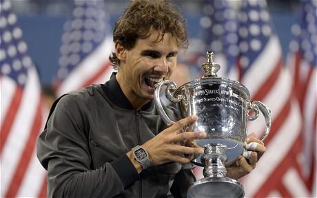 Rafael Nadal Wins US Open.